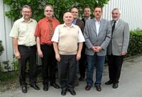 Walter Bähr, Ernst-Martin Borst, Erich Glaubitz, Michael Kotsch, Thomas Schneider, Joachim Kelle, Martin Reininghaus (v.l.n.r.)
