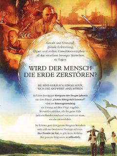 Einladungsflyer der Zeugen Jehovas - Foto: Thomas Schneider