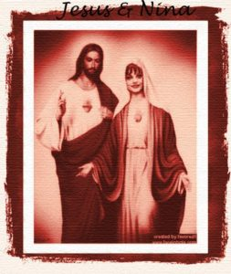 Jesus & Nina - Quelle: Homepage Nina Hagen