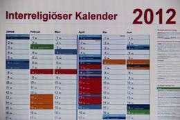 """NRW stellt """"interreligiösen Kalender"""" vor. Foto: Screenshot"""