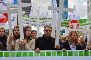 Marsch für das Leben in Berlin 2012. Foto: David Vogt, Berlin.