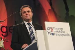 Dr. Hans-Peter Friedrich, Bundesinnenminister. Foto: Thomas Schneider