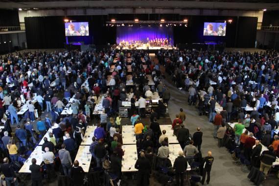 Rund 2.500 Kongressteilnehmer im Congress Center Erfurt. Foto: Thomas Schneider