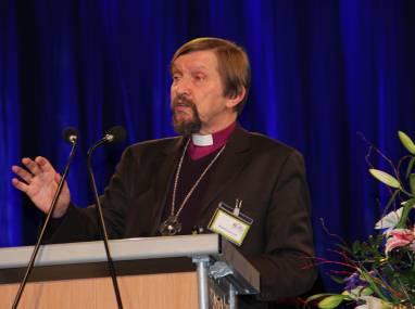 Bischof Graham Cray aus England. Foto: Thomas Schneider