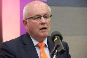 Volker Kauder, Vorsitzender der CDU/CSU-Bundestagsfraktion. Foto: Thomas Schneider/agwelt