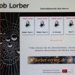 Internetseite der Lorber-Gesellschaft. Foto: Screenshot