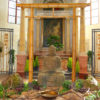 Buddha in Kirche zur Bundesgartenschau