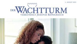 """Zeugen Jehovas Publikation """"Der Wachtturm"""", Foto: PR"""