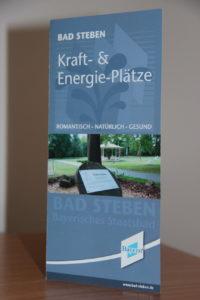 Faltblatt der Bayerischen Staatsbad Bad Steben GmbH. Foto: Thomas Schneider/agwelt