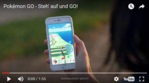"""Screenshot aus dem Werbefilm """"Pokemon Go"""". Quelle: pokemon.com"""