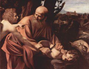 Foto: Michelangelo Merisi da Caravaggio - Die Opferung Isaaks