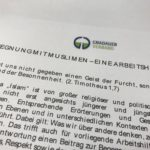 """Pressemitteilung zur Gnadauer Arbeitshilfe """"Begegnung mit Muslimen"""""""