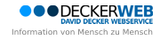 DECKERWEB David Decker Webservice